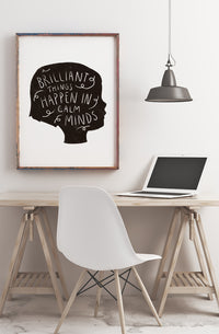 Calm Minds Poster