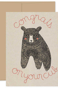 Congrats On Your Cub Card