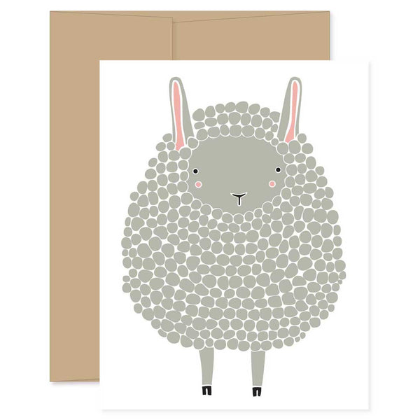 Dark Gray Sheep Card