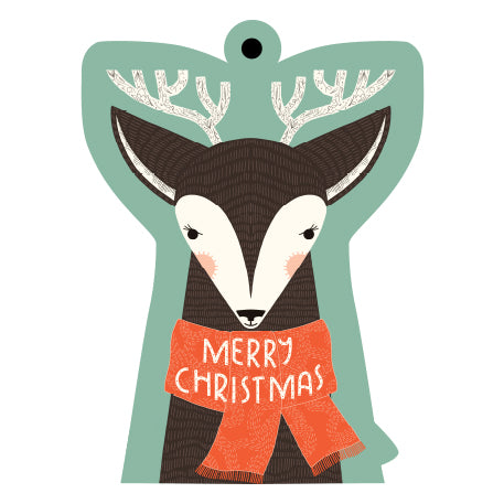 Christmas Deer Gift Tags