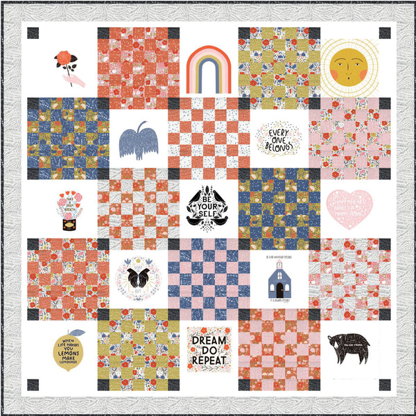 Every Patch Belongs Quilt Pattern