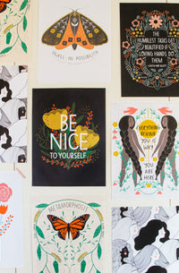 Be Nice To Yourself Poster