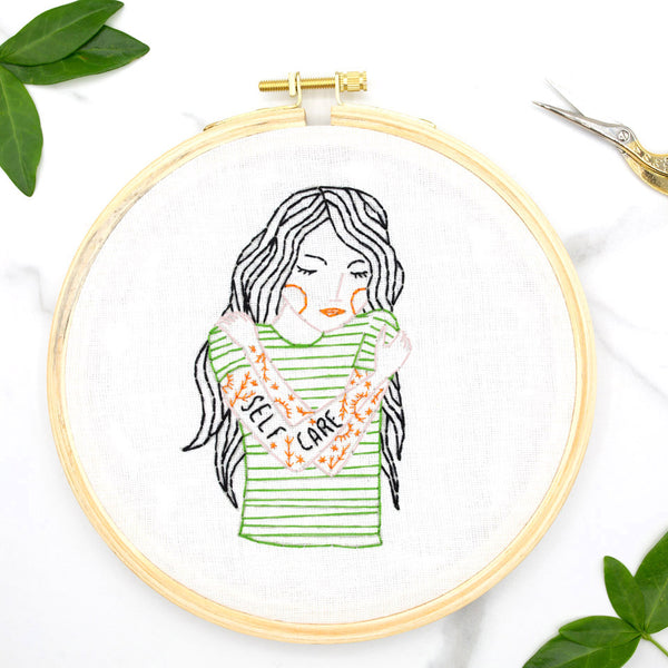 Self Care Embroidery Kit
