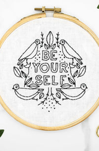Be Yourself Embroidery Kit