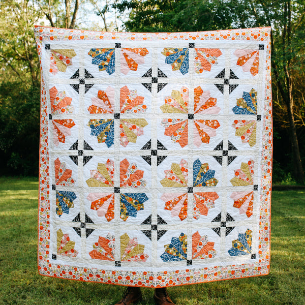 Retreat To The Garden Quilt Pattern