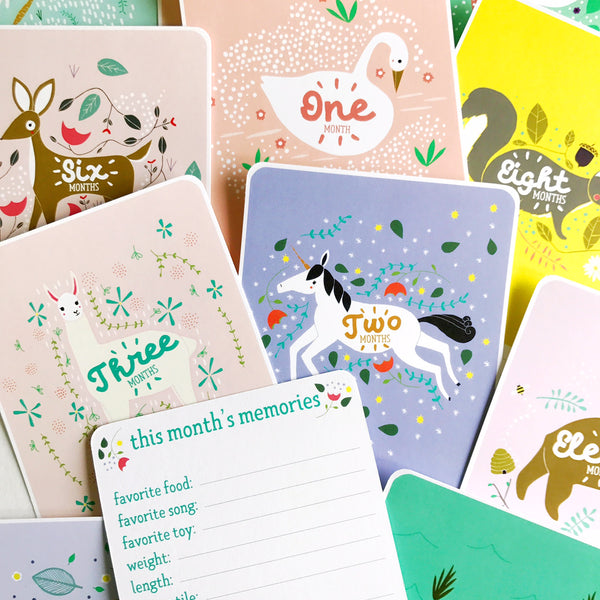 Enchanted Baby Milestone Cards