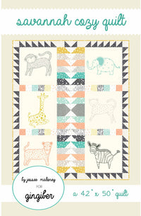 Savannah Cozy Quilt Pattern - PDF VERSION