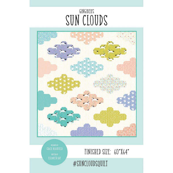 Sun Clouds Quilt Pattern - PDF VERSION