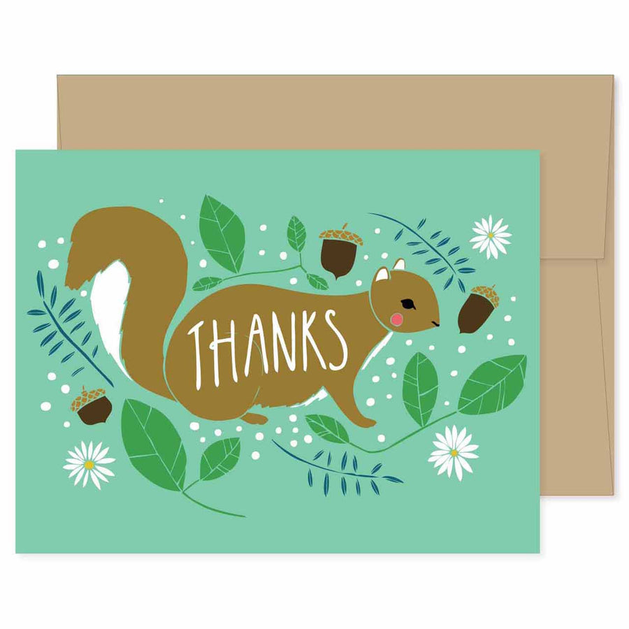 Thanks Squirrel Card
