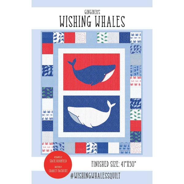 Wishing Whales Quilt Pattern - PDF VERSION