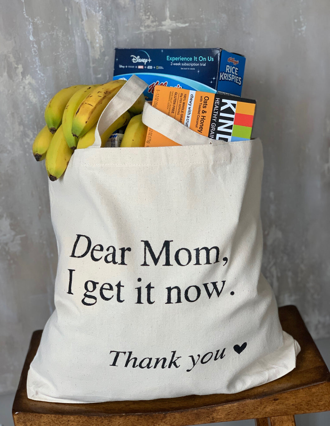 Mom's Day Tote Bag:  Dear Mom