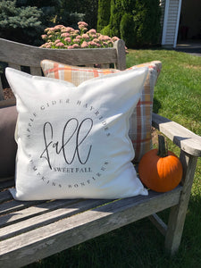 Fall Sweet Fall 20x20 Pillow