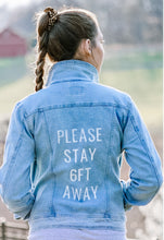 Load image into Gallery viewer, Customized Jean Jacket