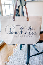 Load image into Gallery viewer, Customized Canvas Tote Bag With Business Logo