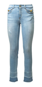 Versace Jeans Couture: P/E 2021 - A1HWA07I APW7W JEANS