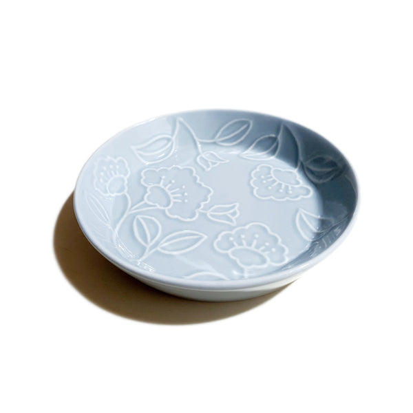 Refreshing Round Plate 148mm (Sky Blue Color)