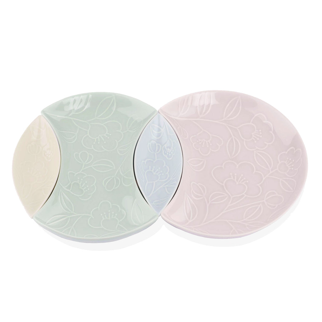 Refreshing 4-Pieces Plate Set