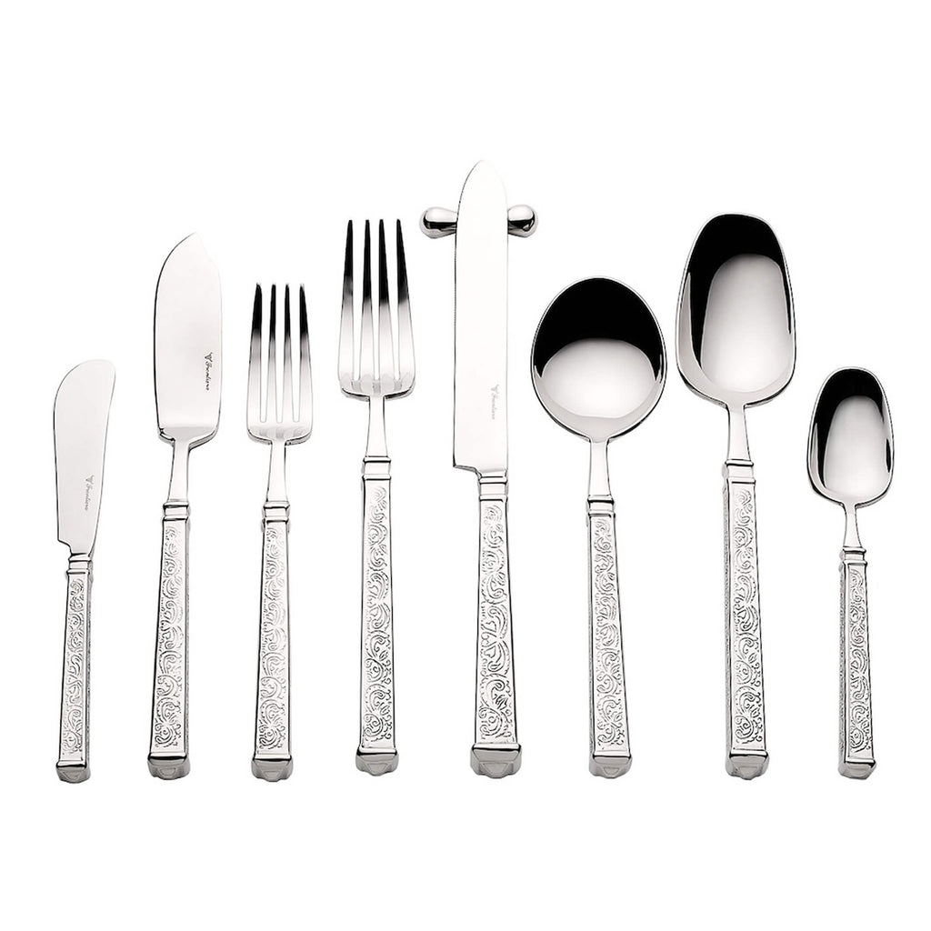 Baroque premium quality stainless steel cutlery set