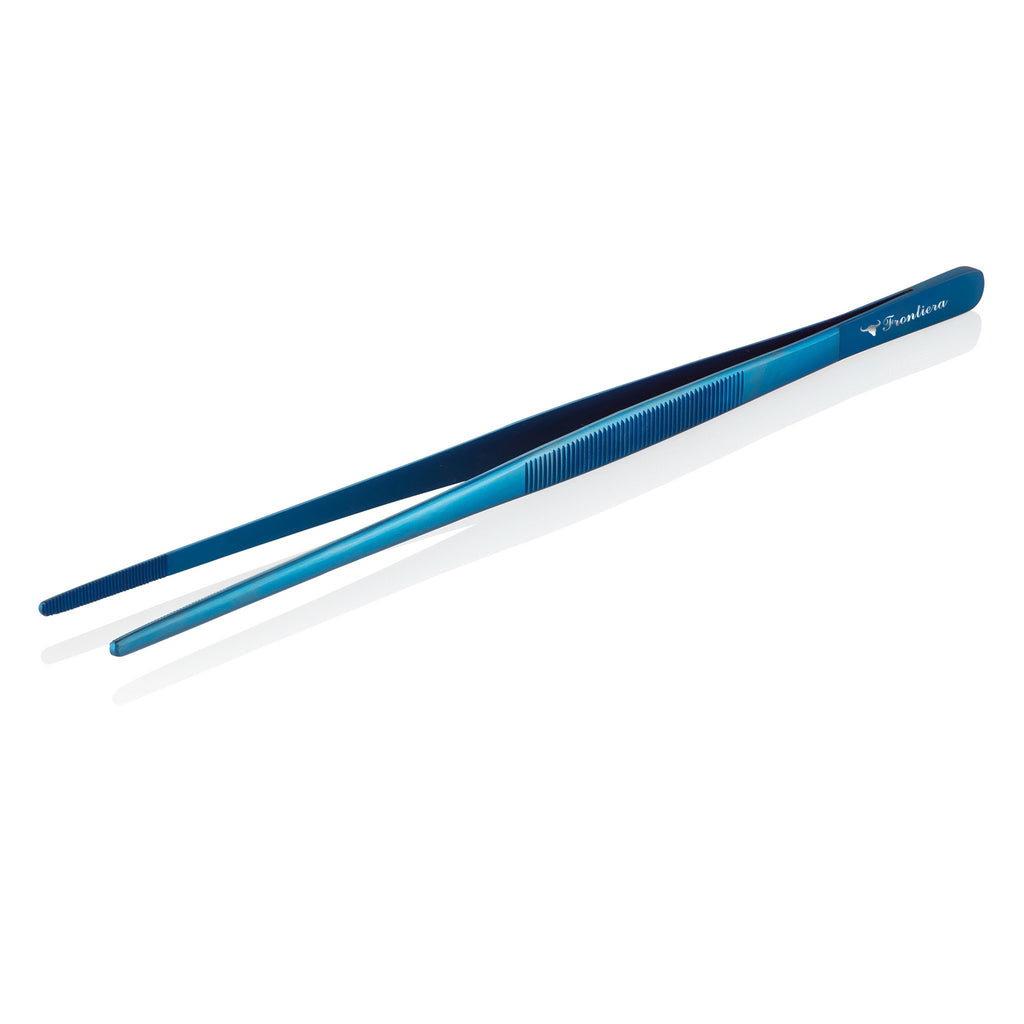 Frontiera Culinary Tools Straight Tweezers (300mm) Blue