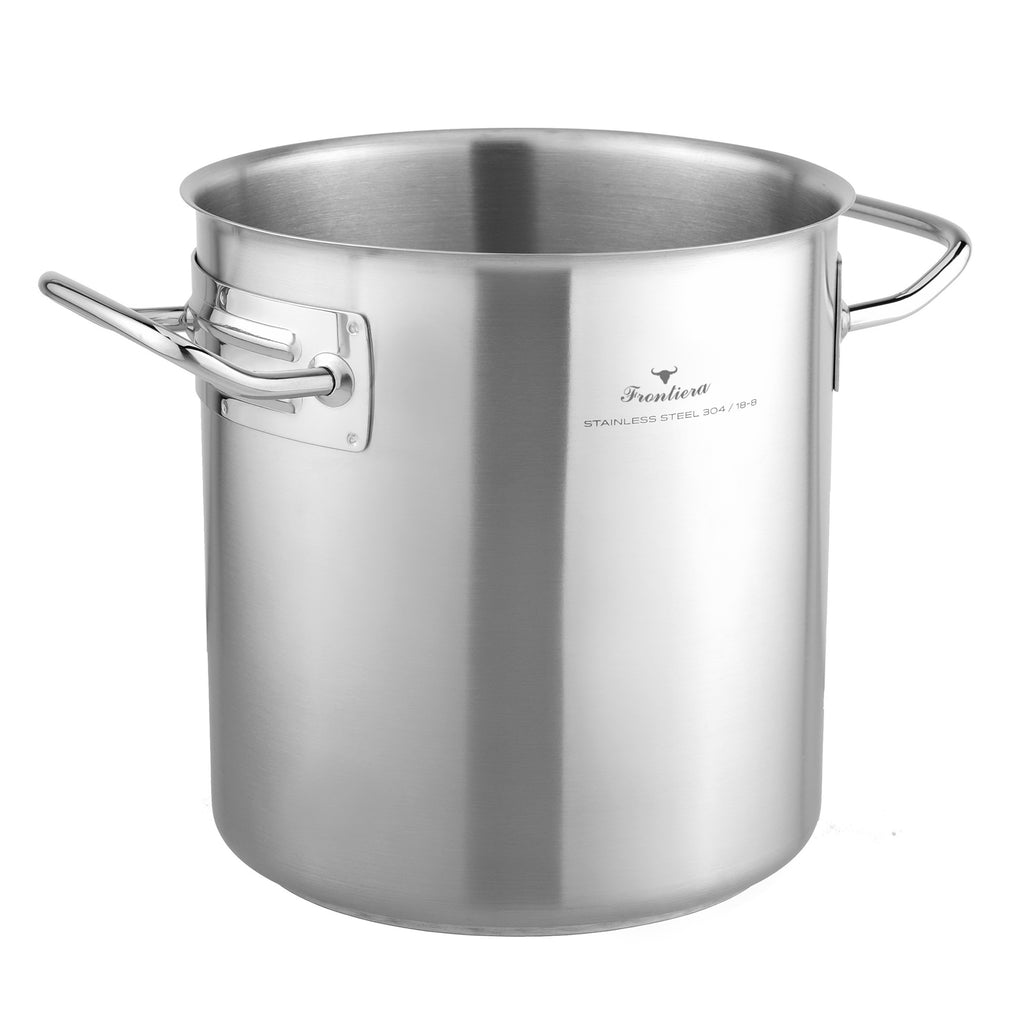(Request a Quote) Master Chef 304 Stainless Steel Stock Pot 46cm / 66.5L