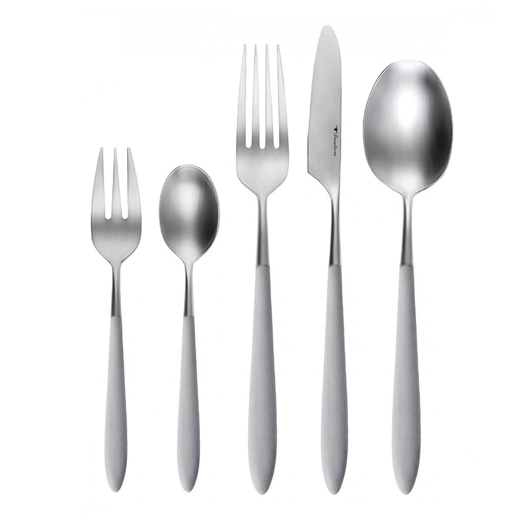 Frontiera Epic Grey 20Pcs, 4-Person Cutlery Set