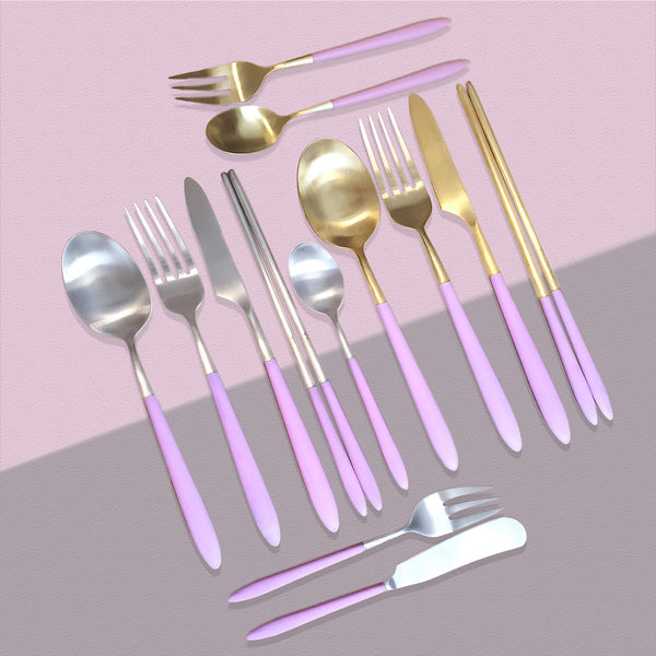 Epic Pink Gold Table Fork 210mm