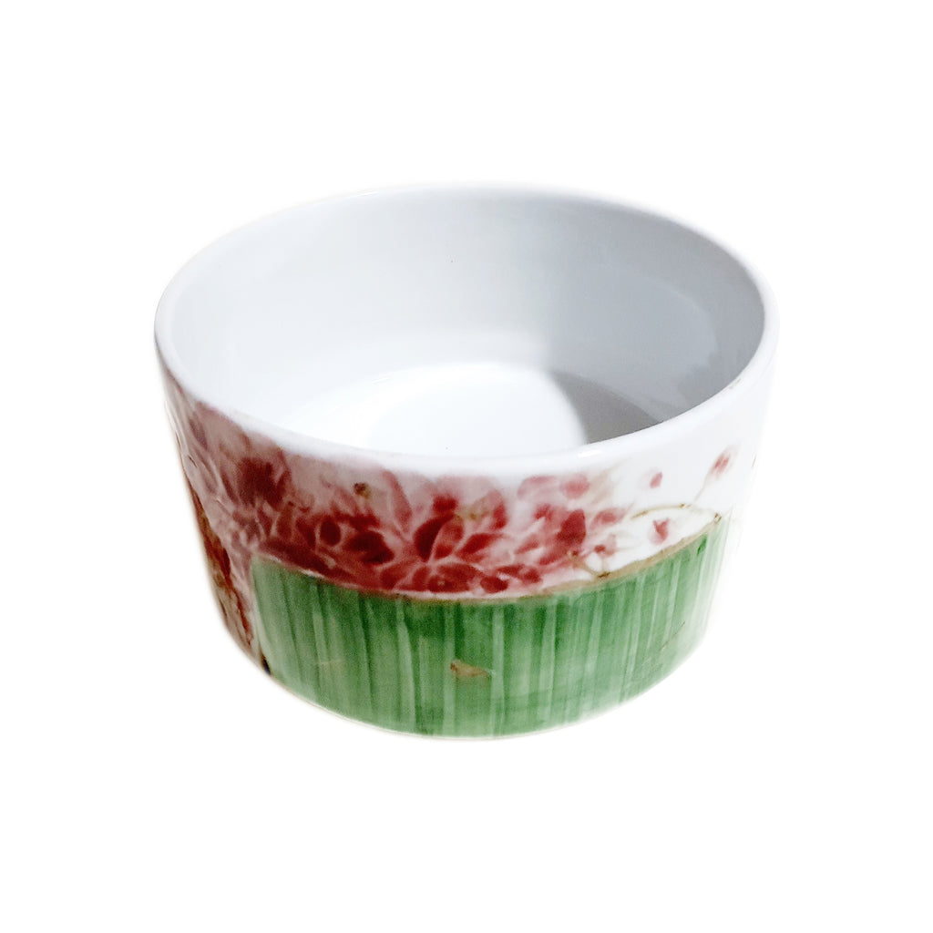 Flower Flower with Green Vase Noddle bowl 145mm