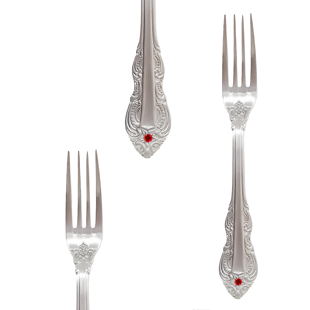 Luna Ruby Table Fork 210mm