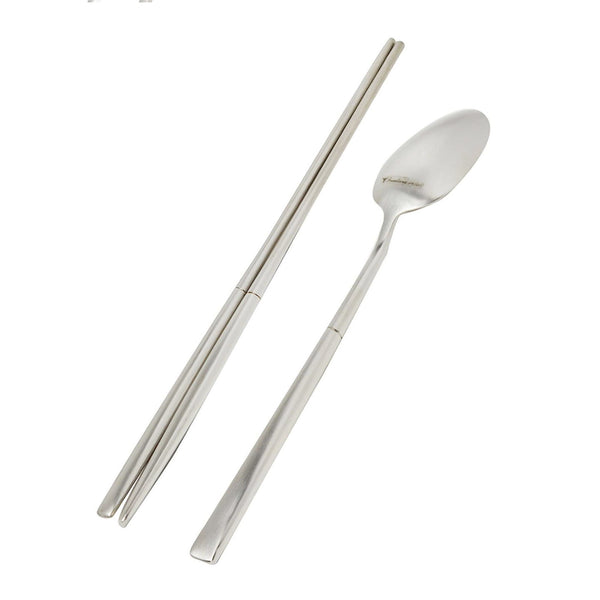 Luxus (Satin) Spoon & Chopsticks 8pc, Set of 4 [Last 3 Set]