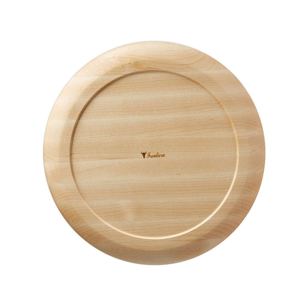 Frontiera Maplewood Round Plate (S) 180mm