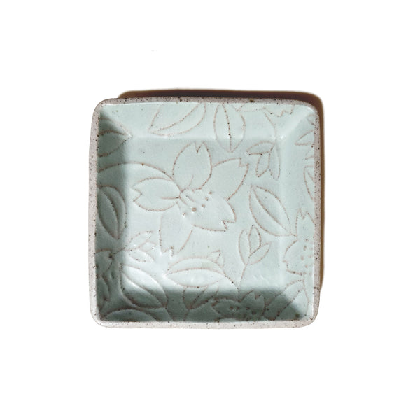 Square Plate 140mm - (Mint Color)