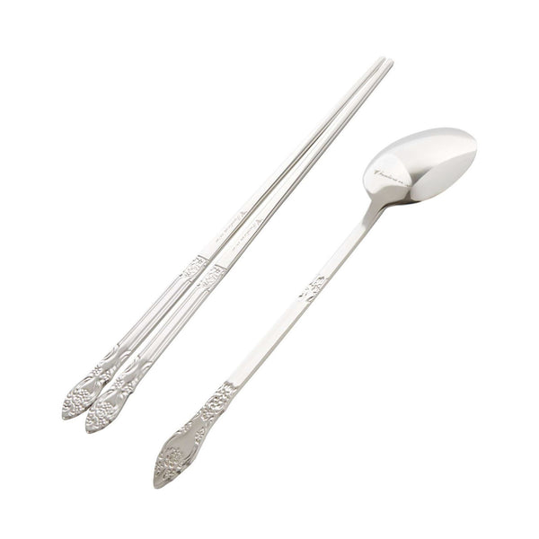 Rose Oriental Spoon 210mm / Chopsticks 220mm