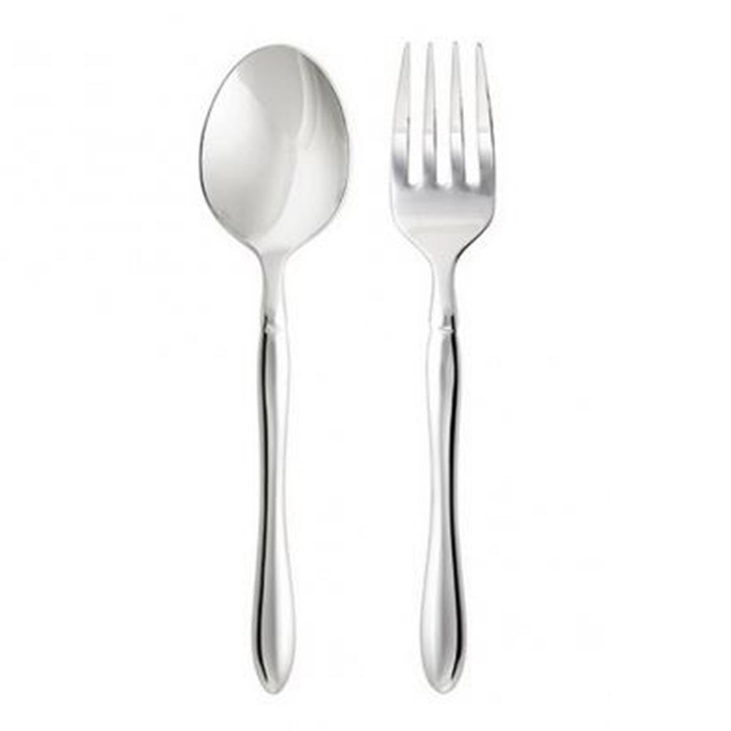 Savor 2-Pcs Serving Spoon & Fork Set 230mm