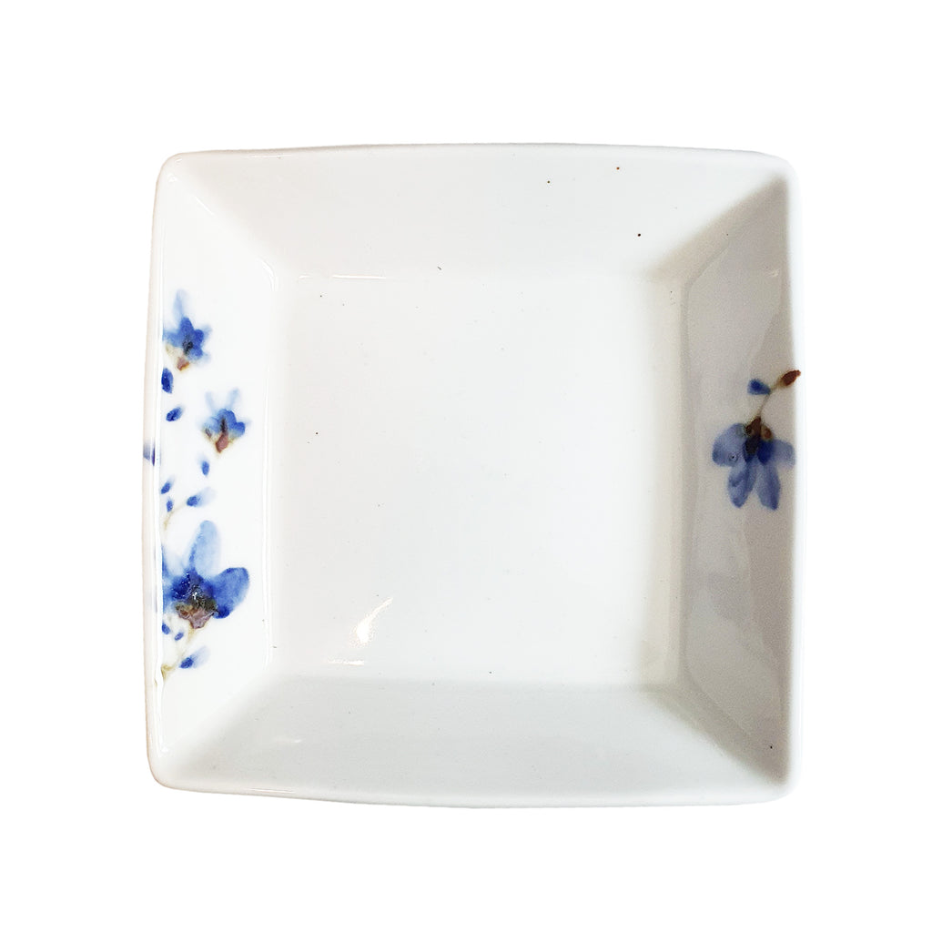 Frontiera Sky Flower Square Dessert Plate 140mm