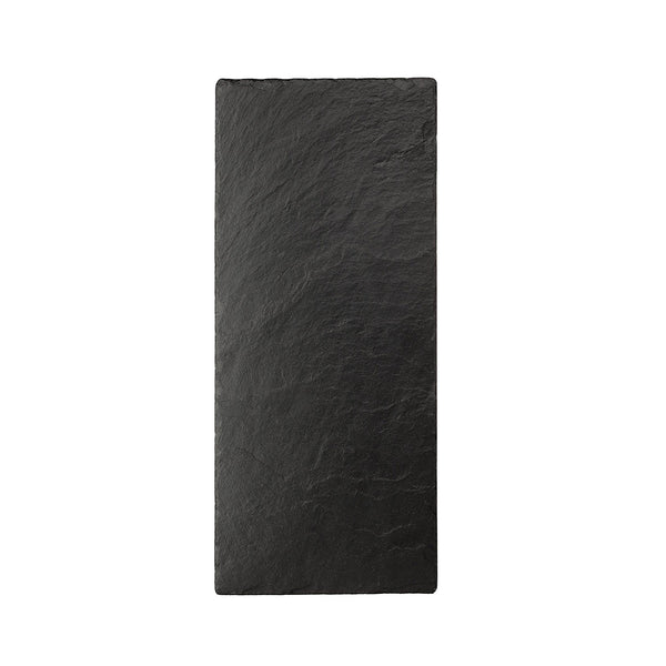 Natural Black Slate Tray with Chalk (Set) 25cm x 12cm