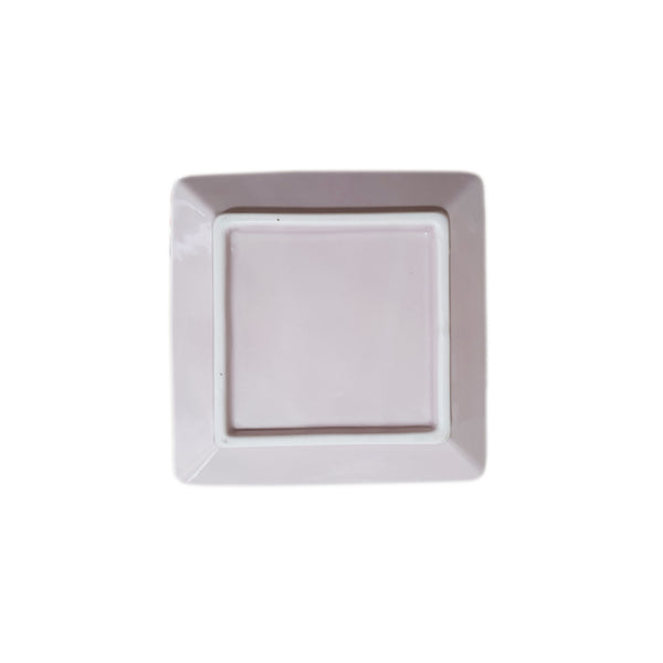 Refreshing Square Plate 127mm (Baby Pink Color)