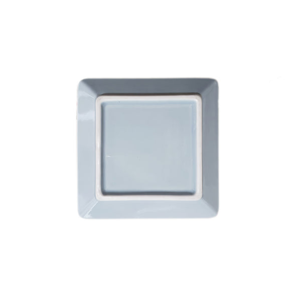 Refreshing Square Plate 127mm (Sky Blue Color)