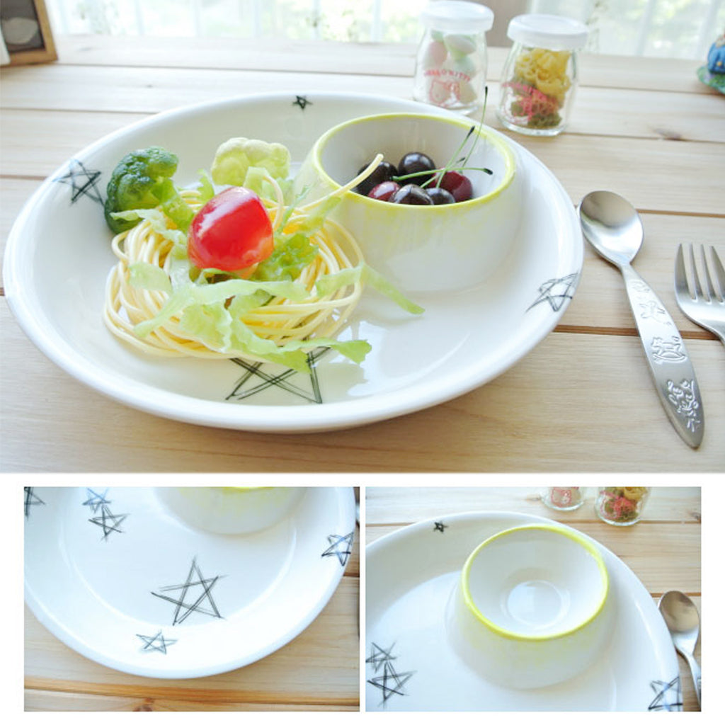 Star Pasta Plate