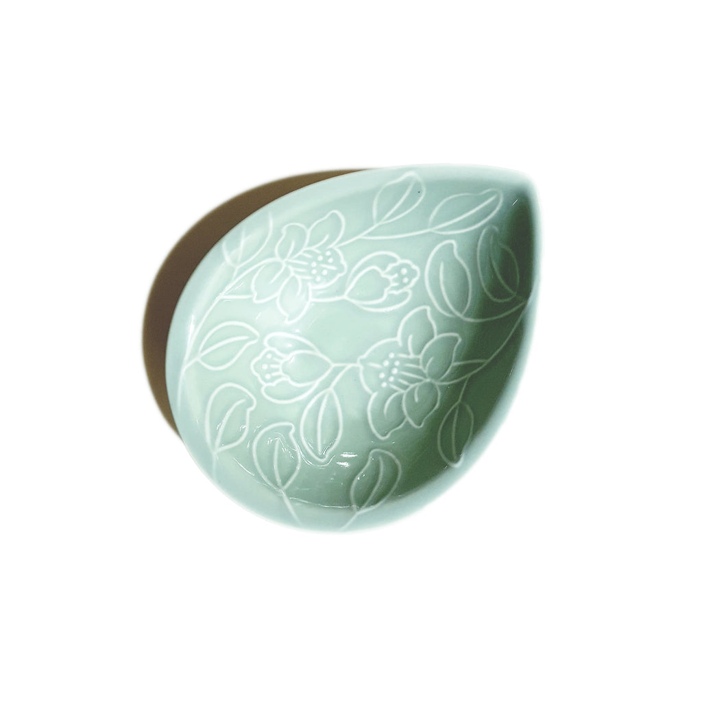 Refreshing Waterdrop Plate 157mm (Mint Color)