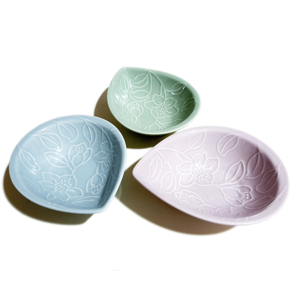 Refreshing Waterdrop Plate 157mm (Sky Blue Colors)