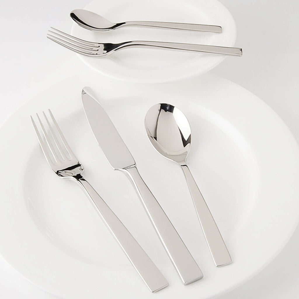 Frontiera White Night 30-Pieces, 6 Person Cutlery Set