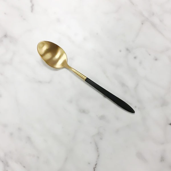 Epic Black Gold Coffee Spoon 158mm