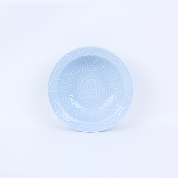 Refreshing Round Bowl 145mm (Sky Blue/Baby Pink/Mint Colors)