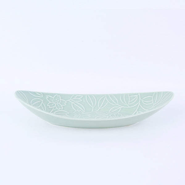 Refreshing Ship Plate 295mm (Mint Color)