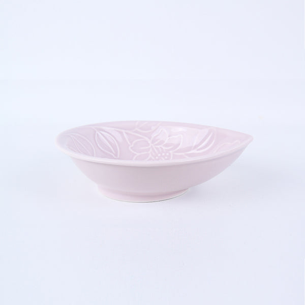 Refreshing Waterdrop Plate 157mm (Baby Pink Colors)