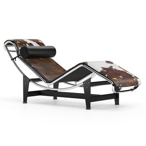 Chaise Longue Le Corbusier LC4 Chaise Long Brown Pony