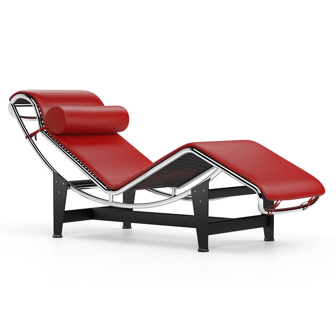 Chaise Longue Le Corbusier LC4 Chaise Longue Red
