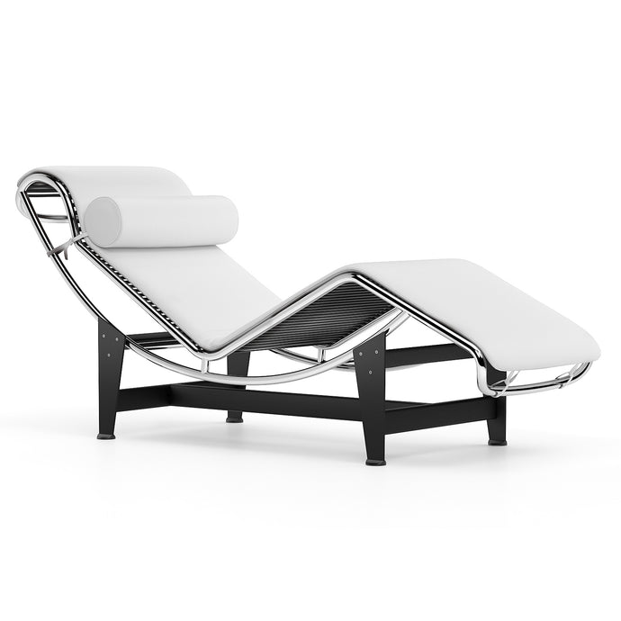 Chaise Longue Le Corbusier LC4 Chaise Longue White