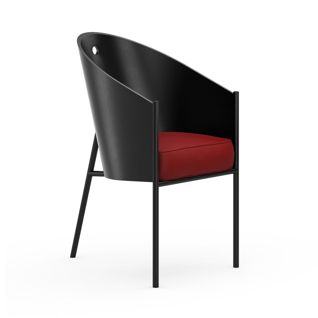 Chaise P.Starck Costes Chair Lacquered Red