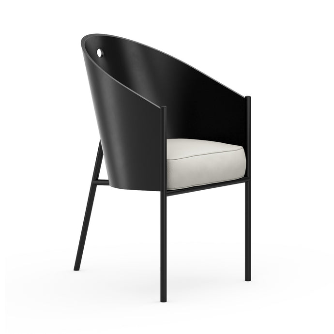 Chaise P.Starck Costes Chair Lacquered Blanc